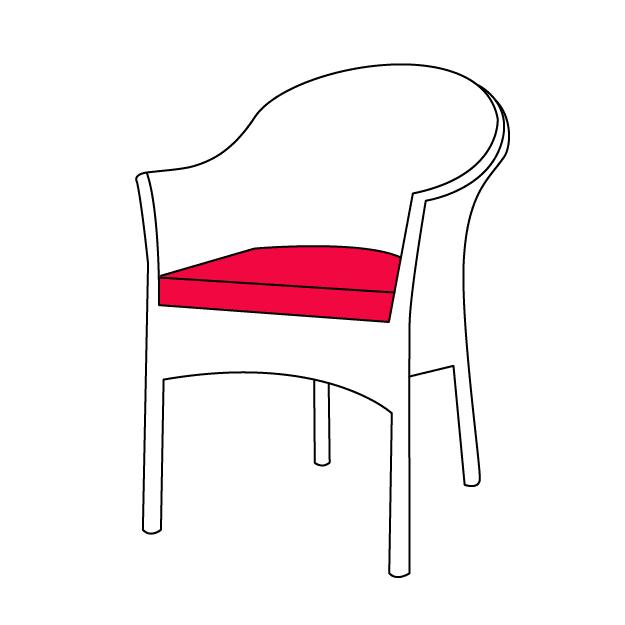 Székpárna, ülőpárna méretre készítés
